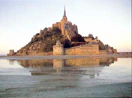 Famous places in France: Mont Saint Michel