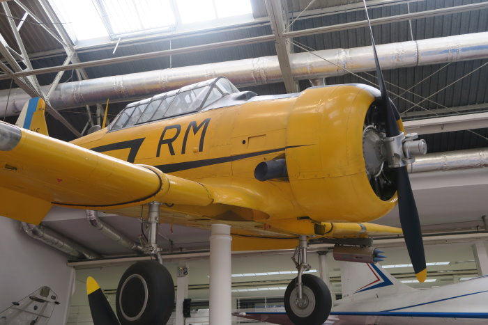 T6 Texan at Paris Air and Space Museum
