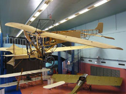 Paris Air and Space Museum: historic planes