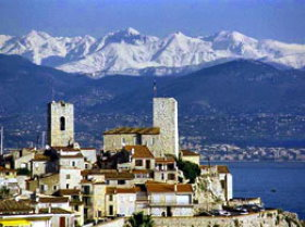 Picasso Museum Antibes is housed in Grimaldi Castle