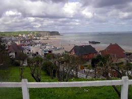 Famous places in France: D day beaches
