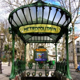 Paris Art Nouveau restaurants. Art deco restaurants.