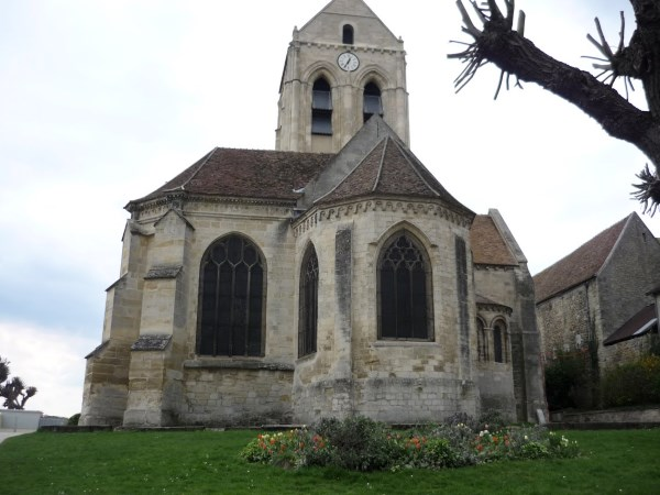 The Auvers Church