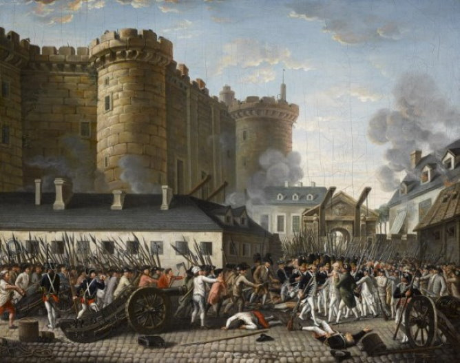 The taking of La Bastille