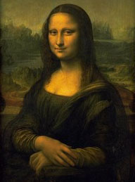 Mona Lisa in Louvre Museum