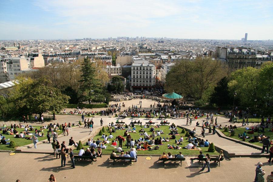 Best views of paris centre pompidou best views of paris