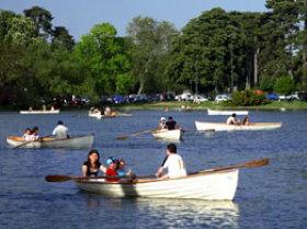 Bois de Boulogne in Paris