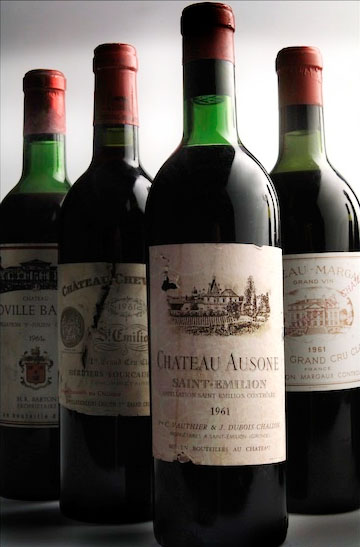 The Bordeaux Grands Crus are world famous