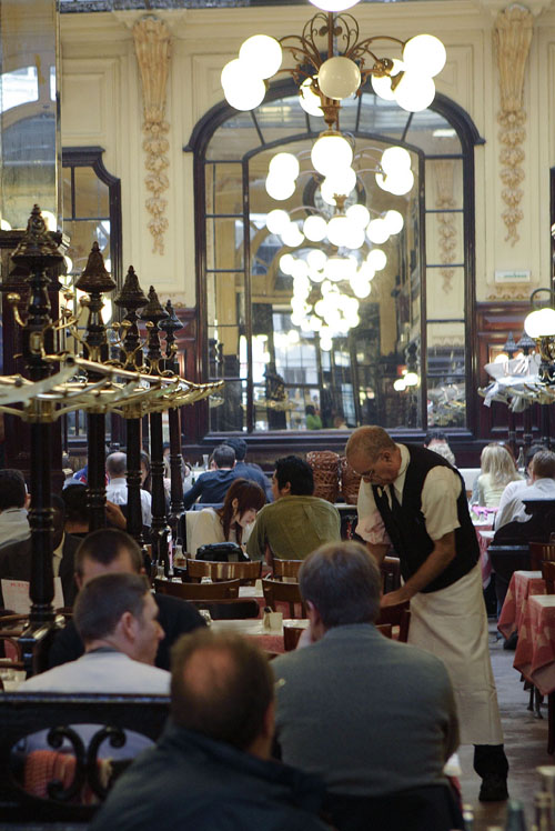 Bouillon Chartier is the cheapest brasserie in Paris