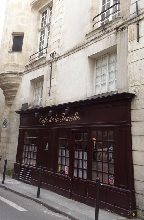 La Tourelle is an authentic and cheap French restaurant