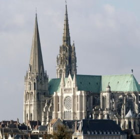 Chartres Cathedral near Paris