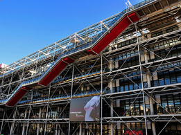 Top Paris attractions: Centre Pompidou