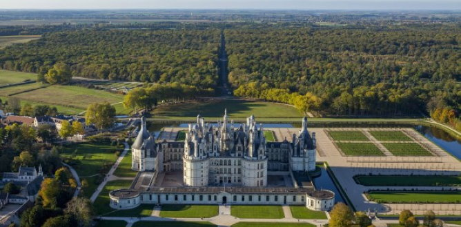 The Chambord domain