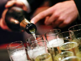 Champagne is famous worldwide for celebrations