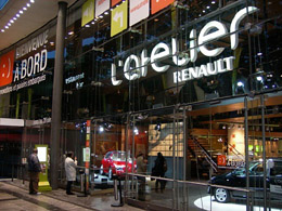 Renault showroom, 53 Champs Elysees