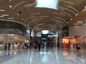Charles de Gaulle Airport Shopping Mall