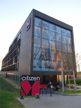 CitizenM hotel is the best rated hotel near Villepinte