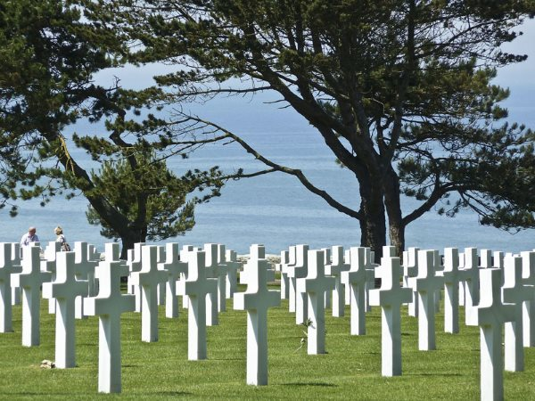 Colleville American cemetery near Ohama beach
