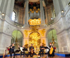 Concert in the royal chapel