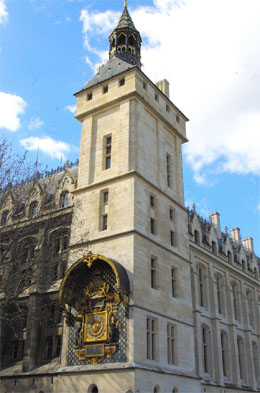 The clock Tower at La Conciergerie