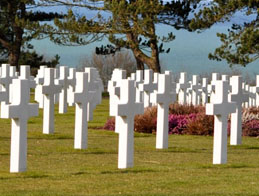 D Day Beaches: Colleville American cemetery