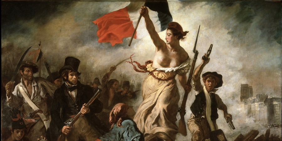 Delacroix-Liberty guiding the-people