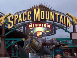 Disneyland Paris information: Space mountain