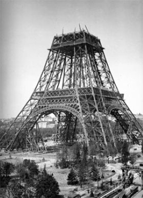 Paris history: construction of Eiffel Tower