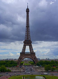 Visit Eiffel Tower monument in Paris