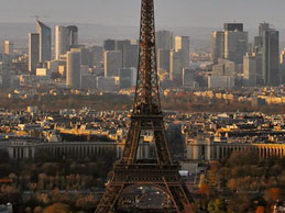 Eiffel Tower and La Defense