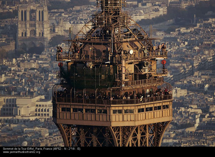Eiffel Tower Top Floor Restaurant