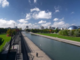 Famous gardens in Paris: Parc de La Villette