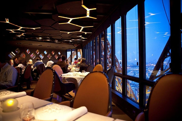 Paris Restaurants With A View