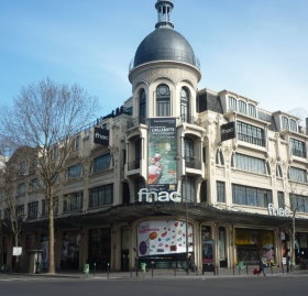 Paris bookstores and music stores: Fnac Etoile