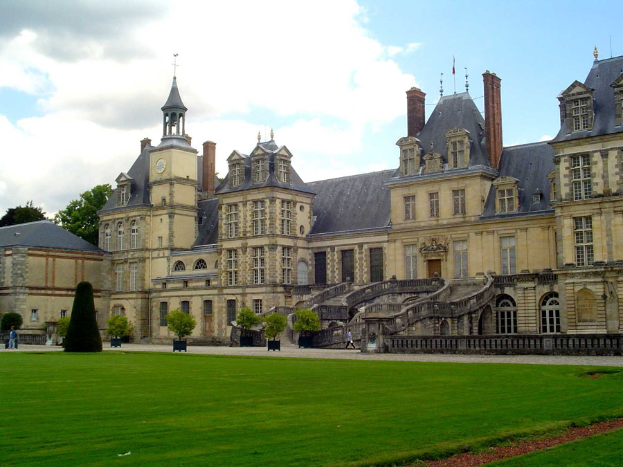 Fontainebleau The Royal Castle And Forest Near Paris