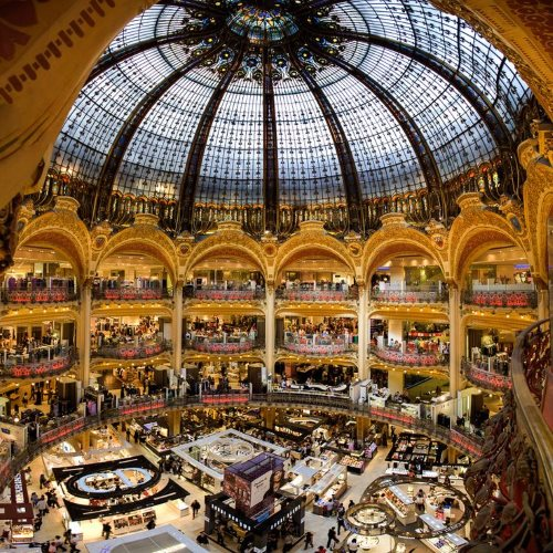 French Department Store: Galeries Lafayette, Paris