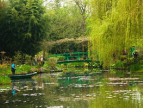 Giverny Gardens near Paris