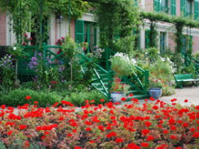 Famous places in France: Giverny