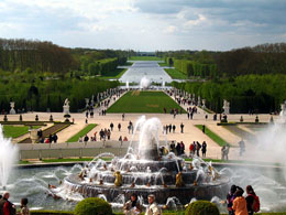 Grand Canal in Versailles