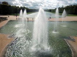 Grand Canal in Versailles near Paris