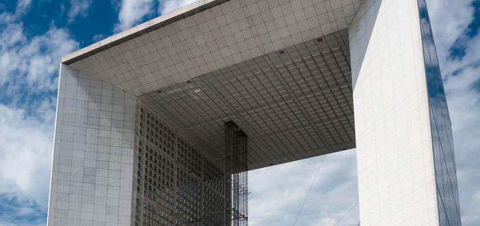 La Grande Arche in La Defense