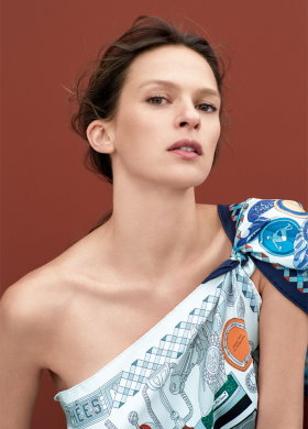 Carre Hermes are the most famous silk scarves in the world