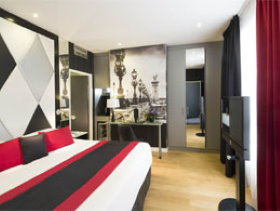 Hotels near Louvre Museum: Hotel Empire