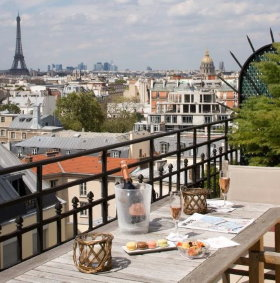 Littre (4 stars), a top Paris hotels left bank
