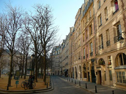 Place Dauphine on Ile de la Cite