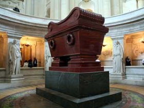 Napoleon's tomb in Les Invalides