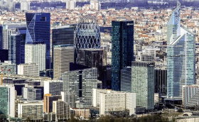 La Defense is the top business district in the city