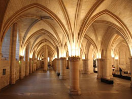 Medieval hall in La Conciergerie