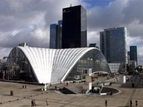 CNIT Shopping Center in La Defense