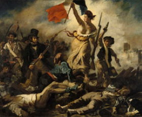 Liberty leading the people - Delacroix